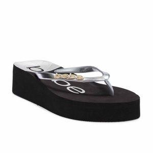 06263c12d6f NWT Bebe Jeanie Platform Thong Sandal